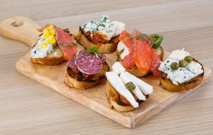 Canape Board Selection