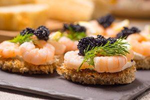 Shrimp Toasts Starter